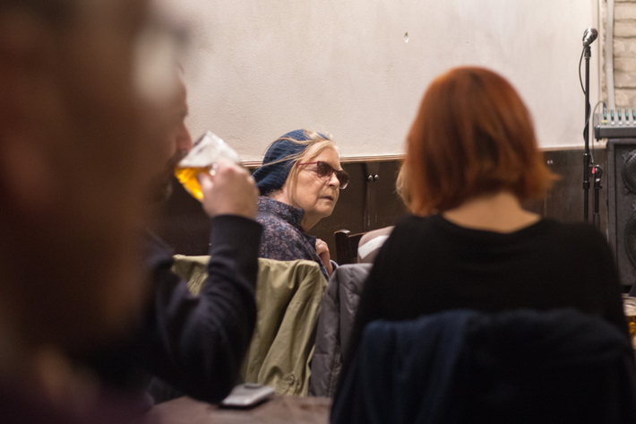 Fotoreportáž z Večera RR / Jarní číslo + L. F. Céline + A. Kareninová + H. Hájek