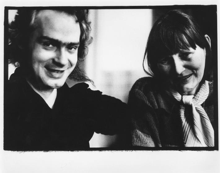 K osmdesátinám Dany Němcové   David Němec, Dana Němcová, 1989