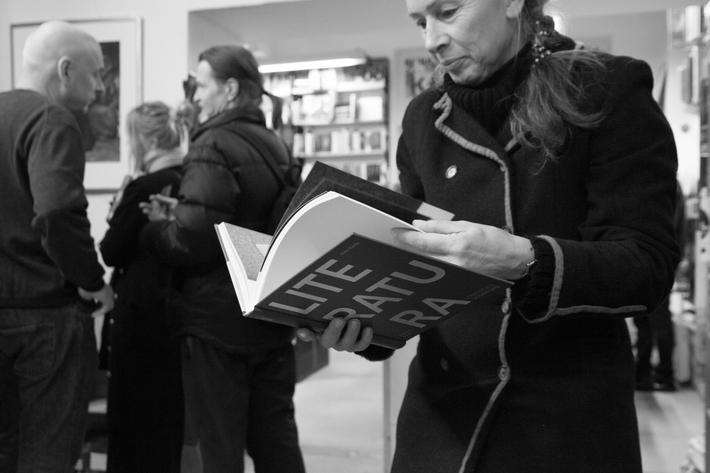 Ad Literatura Viktora Karlíka (Jiří Brabec, Michael Špirit, Marek Vajchr + fotoreportáž) | Foto Anna-Marie Berdychová