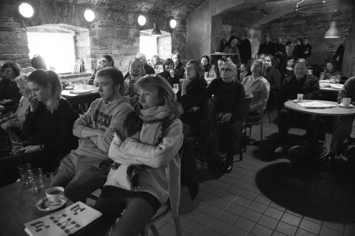 Věra Nováková + Pavel Brázda + RR noviny / fotoreportáže z RR večera | Foto © Anna-Marie Berdychová, 2018