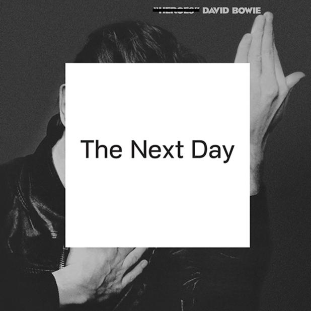 Škrtni, co se nehodí!  (David Bowie / Jonathan Barnbrook – The Next Day) | David Bowie, The Next Day (2013)