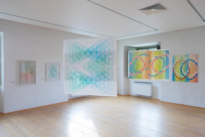 Dana Puchnarová: Pokus o překonání hranice | Pohled do instalace, foto © GASK