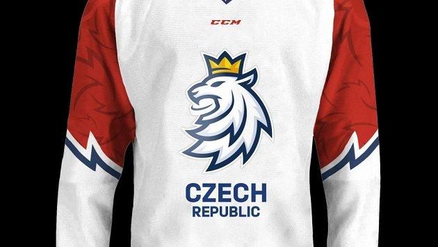 Lev bijící o mříže podprůměrnosti aneb Nové dresy české hokejové reprezentace | zdroj: hokej.cz