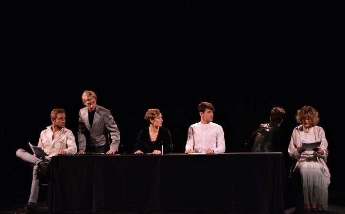 Boj, který v daný okamžik nekončí vítězně, má svůj smysl (s režisérem Štěpánem Páclem o cyklu Hrdina v českém dramatu) | Scénické čtení Tylova dramatu Drahomíra a její synové, foto Aminata Keita