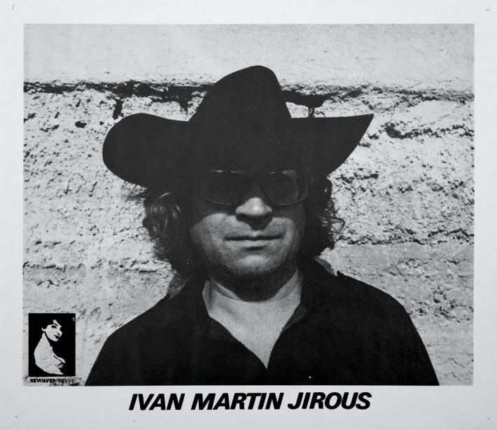 Za Magorem! (vzpomínka na Ivana Martina Jirouse) | Plakát vydaný Revolver Revue v 80. letech