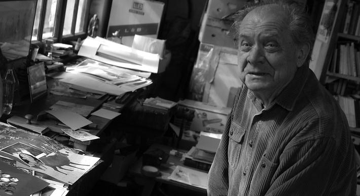 Zemřel Ivo Vodseďálek (8. 8. 1931 – 19. 9. 2017) | Ivo Vodseďálek, 2013, foto Mirek Kaufman