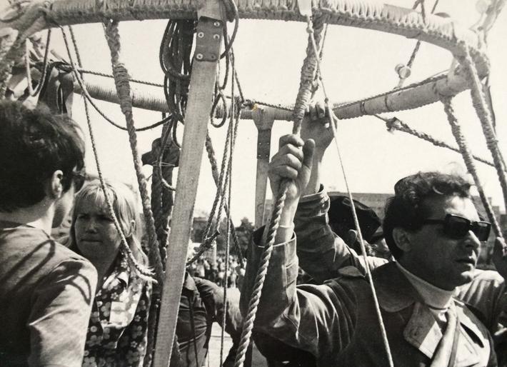 Zemřel Ivo Vodseďálek (8. 8. 1931 – 19. 9. 2017) | Ivo Vodseďálek, konec šedesátých let, foto archiv