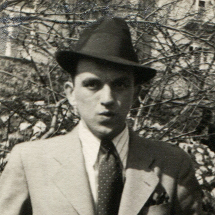 100 let od narození Jana Hanče / Nepublikované texty, připravovaná RR + Cesta Jana Hanče v Plzni | Jan Hanč, 1940, foto archiv rodiny
