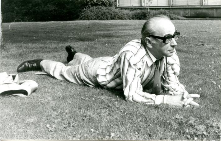 K nedožitým stým narozeninám Jiřího Koláře (*24. září 1914) | Jiří Kolář, 70. léta, foto Dietmar Schneider