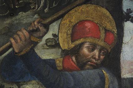 Svatému Václavu k svátku | Sv. Václav kácí šibenice, Svatováclavská kaple katedrály sv. Víta