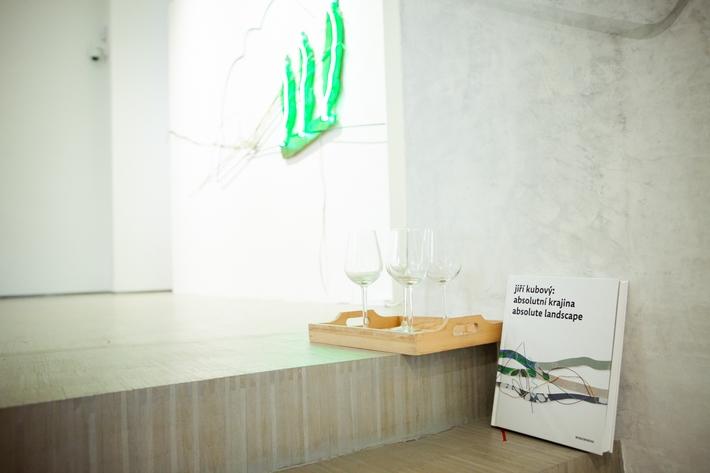 Fotografie z uvedení monografie Jiří Kubový: Absolutní krajina/Absolute Landscape
