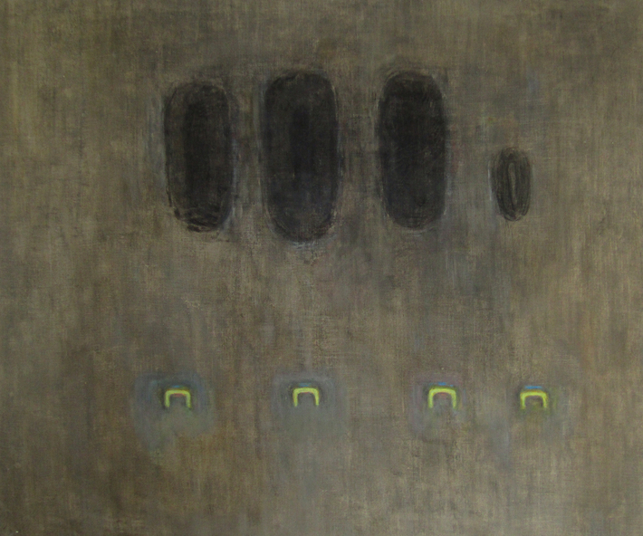 Ohlédnutí za malířkou Romanou Královou | Bez názvu, nedatováno, cca 2005–2007 olej, plátno, 100 x 120