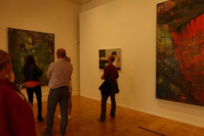 Není výstava jako výstava čili případ Gerhard Richter   Pohled do expozice NG v Paláci Kinských