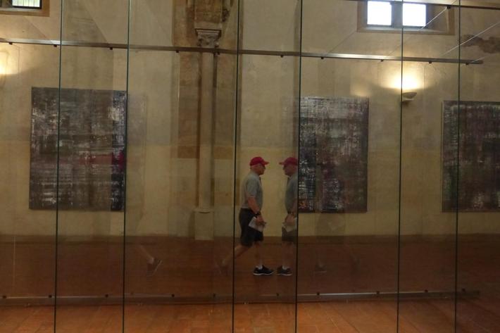 Není výstava jako výstava čili případ Gerhard Richter | Pohled do expozice NG v Anežském klášteře