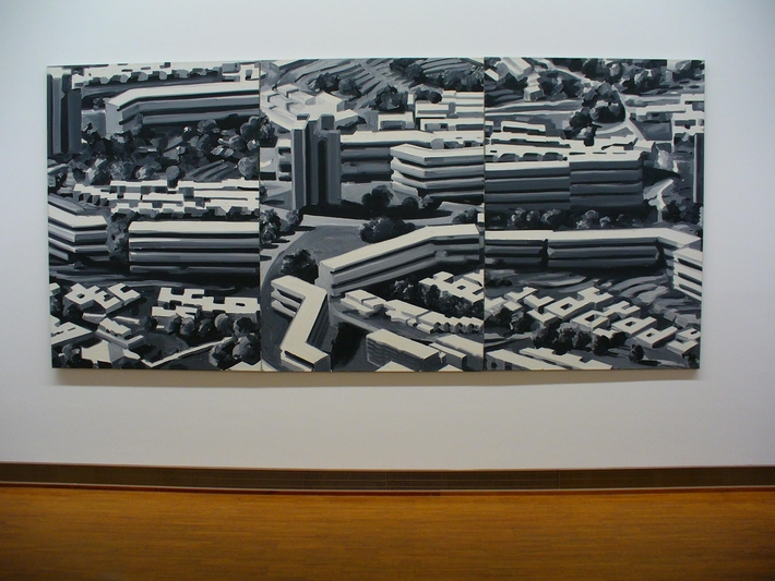 Není výstava jako výstava čili případ Gerhard Richter   Obraz města, 1969 (Vídeň)