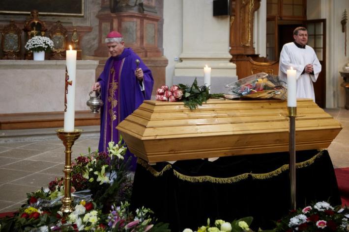 Kázání na pohřbu Zbyňka Hejdy (Břevnovský klášter, 21. 11. 2013)