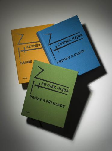 K nedožitým narozeninám Zbyňka Hejdy | Knihy Zbyňka Hejdy z nakladatelsví Triáda, foto Ondřej Přibyl