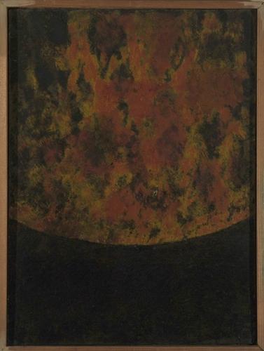 OTÁZKA / Vladimír Drápal | Skica k Limitované kompozici, 1989, soukromá sbírka
