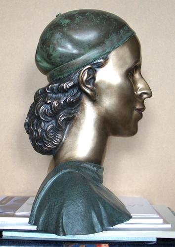 Za sochařem Zdeňkem Preclíkem (20. 1. 1949 – 21. 3. 2021) | Rádiovka, 2016, bronz