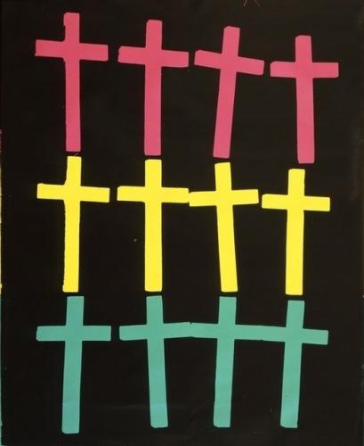 TŘI/III. | Andy Warhol, Kříže