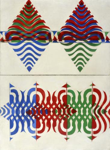 Dana Puchnarová: Pokus o překonání hranice | Antiobraz – Architektoun, 1970, foto © GASK
