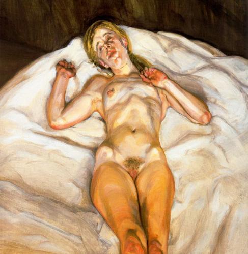 TŘI/III. | Lucian Freud, Nahá dívka