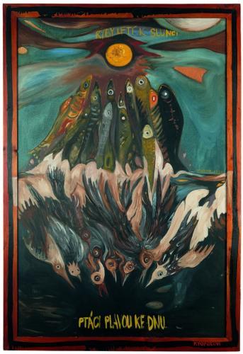 Mám tu čest (řeč nad rakví Filipa Topola)   Viktor Karlík, Ryby-ptáci (věnováno Filipu Topolovi), 1989