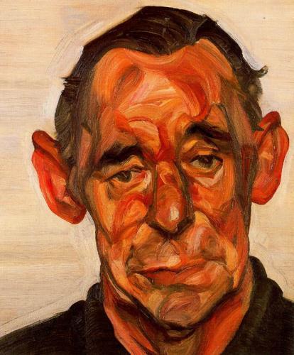 TŘI/III. | Lucian Freud, Portrét Johna Deakona
