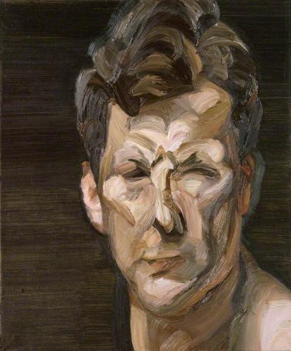 TŘI/III. | Lucian Freud, Autoportrét