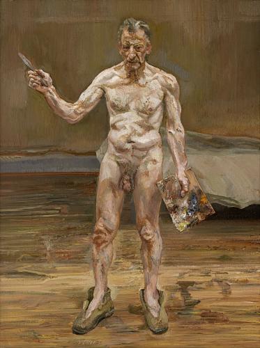 TŘI/III. | Lucian Freud, Pracující malíř