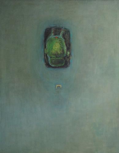 Ohlédnutí za malířkou Romanou Královou | Předurčení, 1994, olej, plátno, 133 x 170
