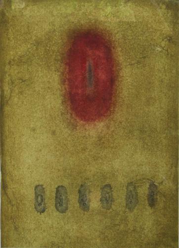 Ohlédnutí za malířkou Romanou Královou | Bez názvu, nedatováno, akvarel, tužka, papír, 27 x 36