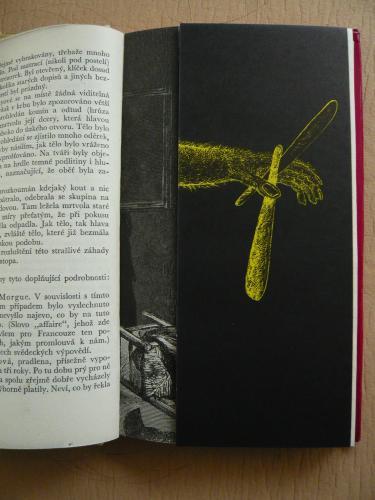 TŘI/II. | Václav Sivko, ilustrace ke knize E. A. Poea Vraždy v ulici Morgue (Mladá fronta 1964)