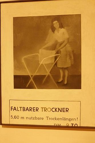 Není výstava jako výstava čili případ Gerhard Richter | Skládací sušák, 1962 (Praha)