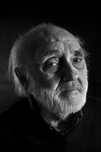 To mě nikdy v životě neopustilo (Zbyněk Hejda *2. února 1930, Jan Lopatka *7. února 1940) | Zbyněk Hejda, 2010, foto Karel Cudlín
