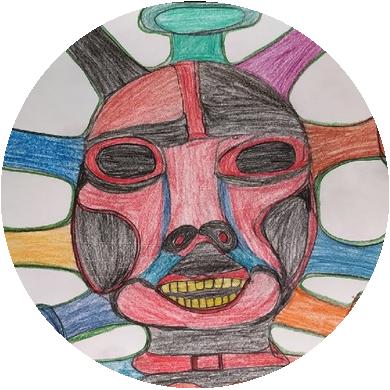 Koronavirové kresby La Inthonkaew