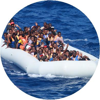 Ke Středozemní migrační trase