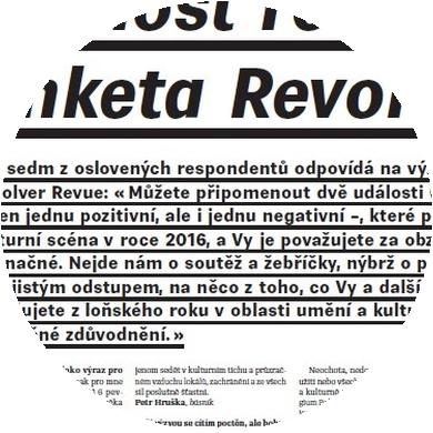 Událost roku 2016 (anketa Revolveru) II.